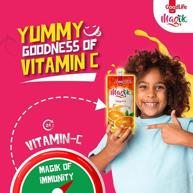 Here is Week 2 of #MagikOfImmunity, Magik Mum to Win N5,000.
