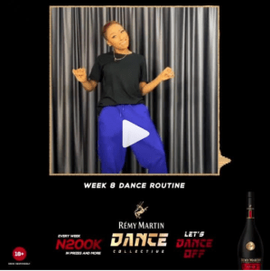 N200k For Grabs in Remy Martin Week 8 Dance Routine.