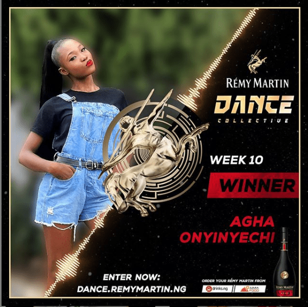 See The Winner of Remy Martin Dance Collective Week 10.