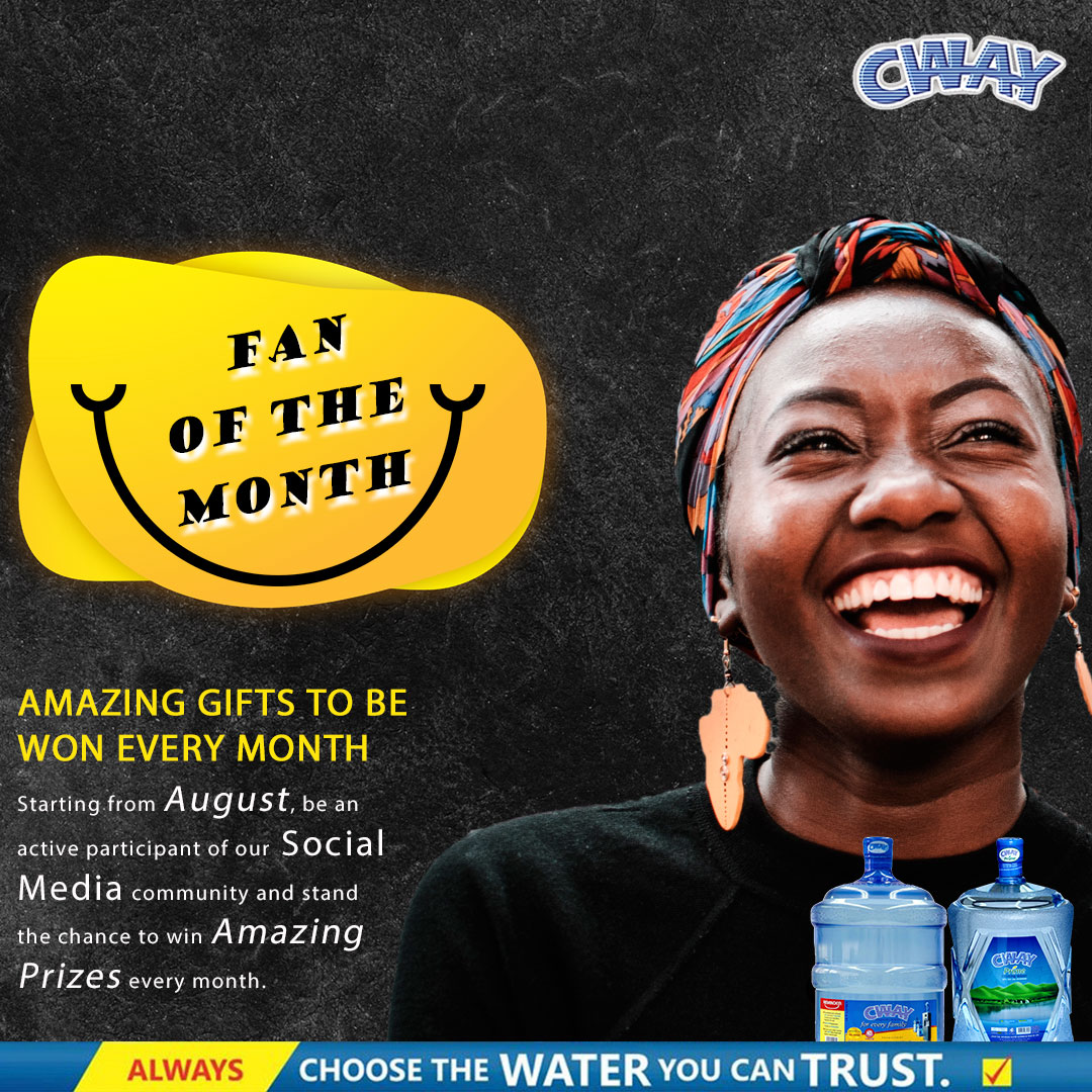 JOIN The Cway Refill Water  #FanOfTheMonth Challenge.