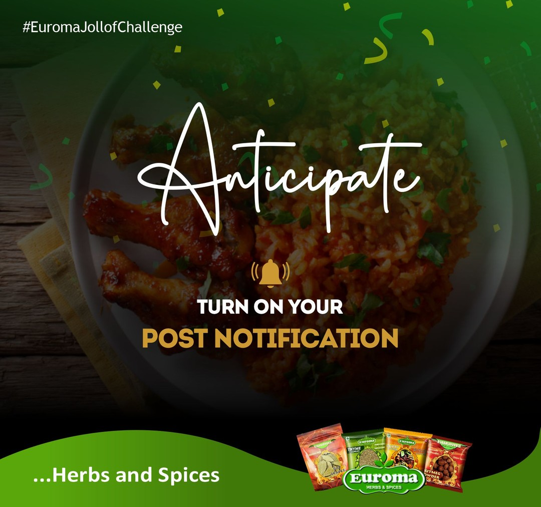 ANTICIPATE #EuromaJollofChallenge By Larsor Seasoning.