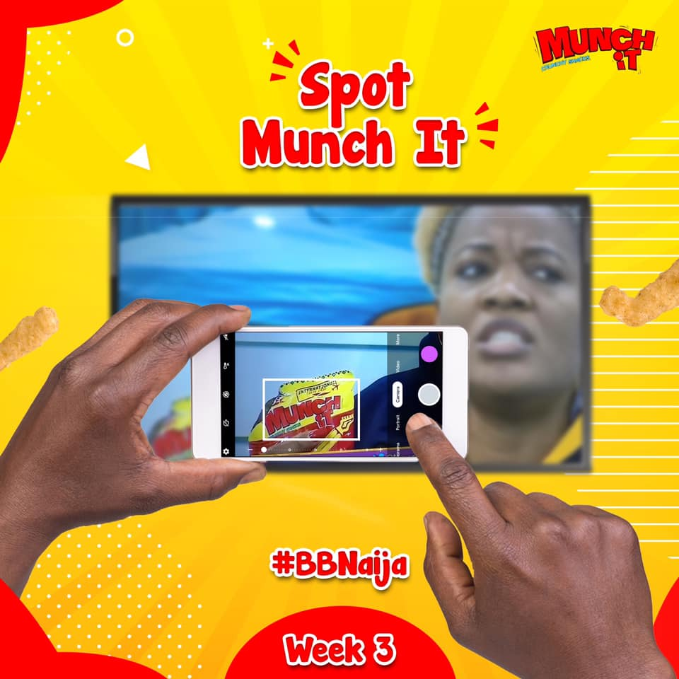 #SpotMunchItAtBBN and Win Prizes.