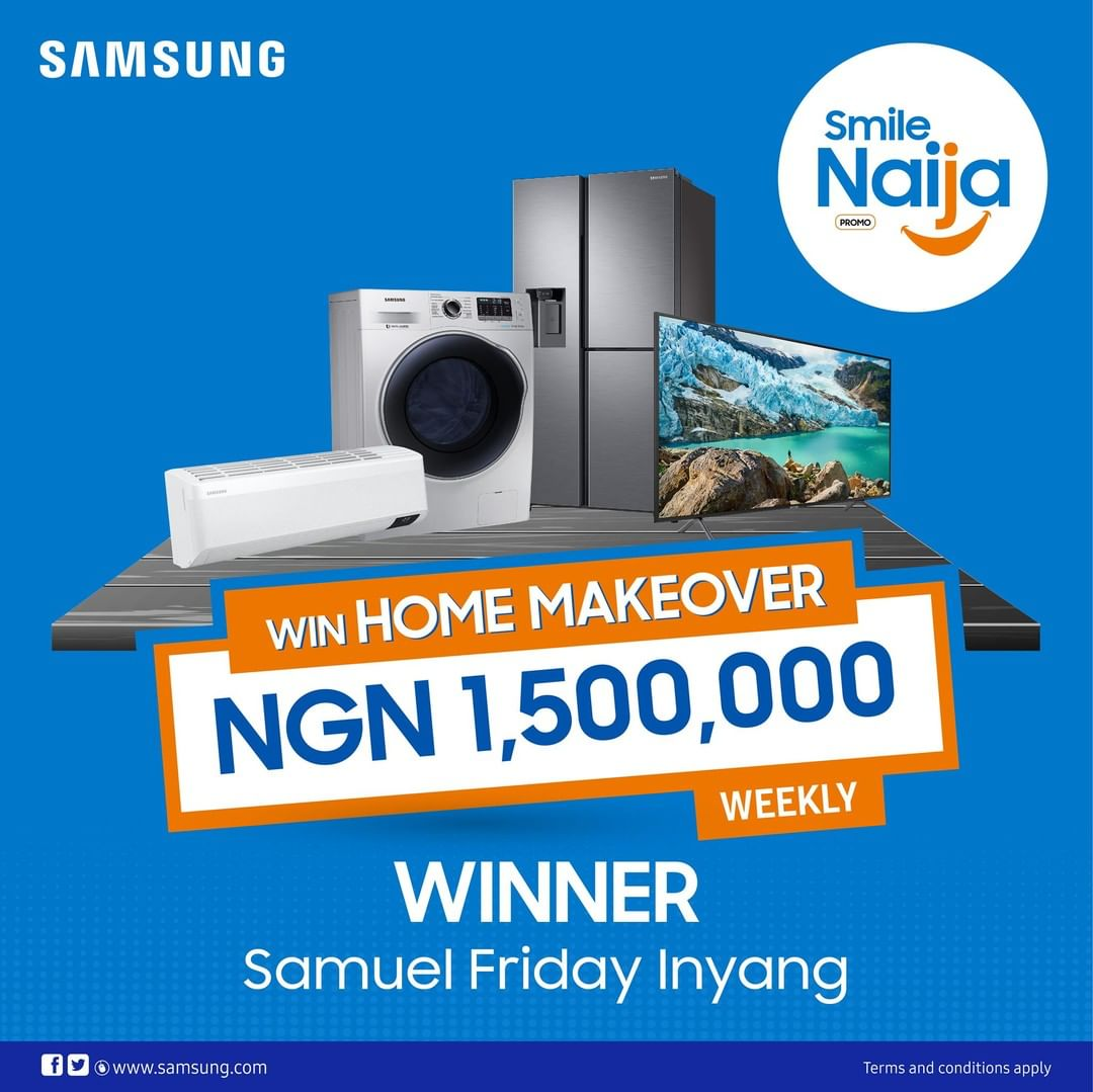 See Another Winner Of Samsung Makeover Promo.