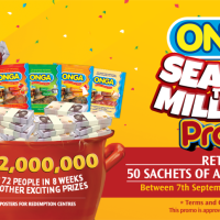 Onga Season to Millions Promo, N72Million For 72 People in 8 Weeks Plus Other Prizes.