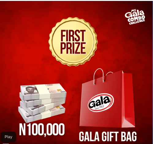 Win N100k in My Gala Combo Challenge.