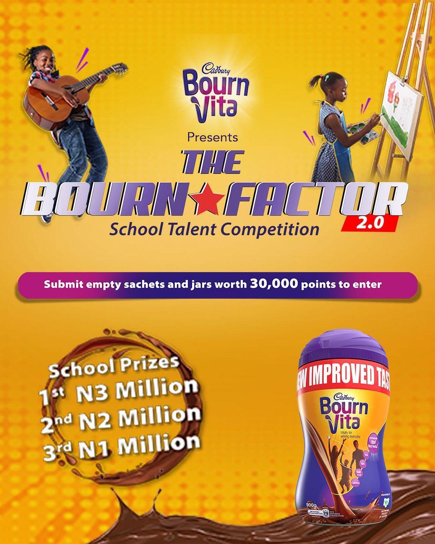 Win Millions in Cadbury Bournvita School Talent Competition 2020.