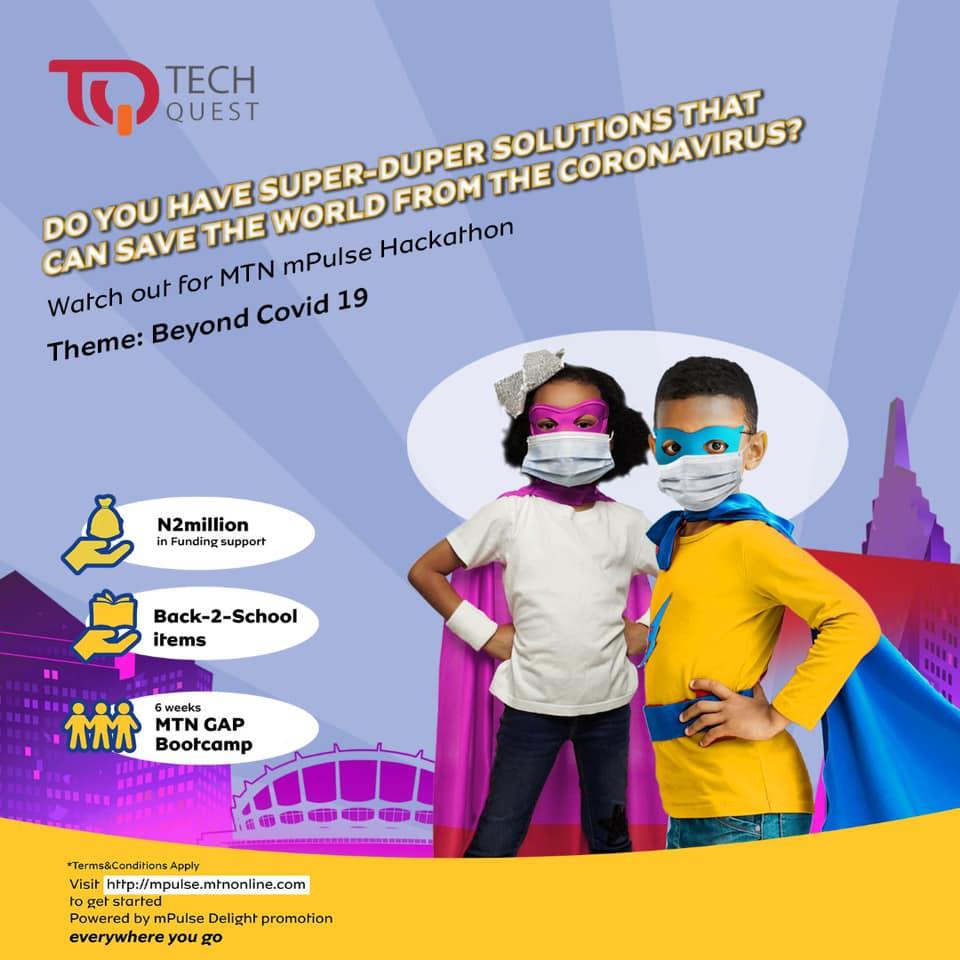 Win N2Million Funding Support in MTN Tech Quest.