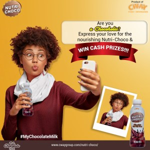 Join the Nutri Choco Selfie Contest and Win Cash Prizes.