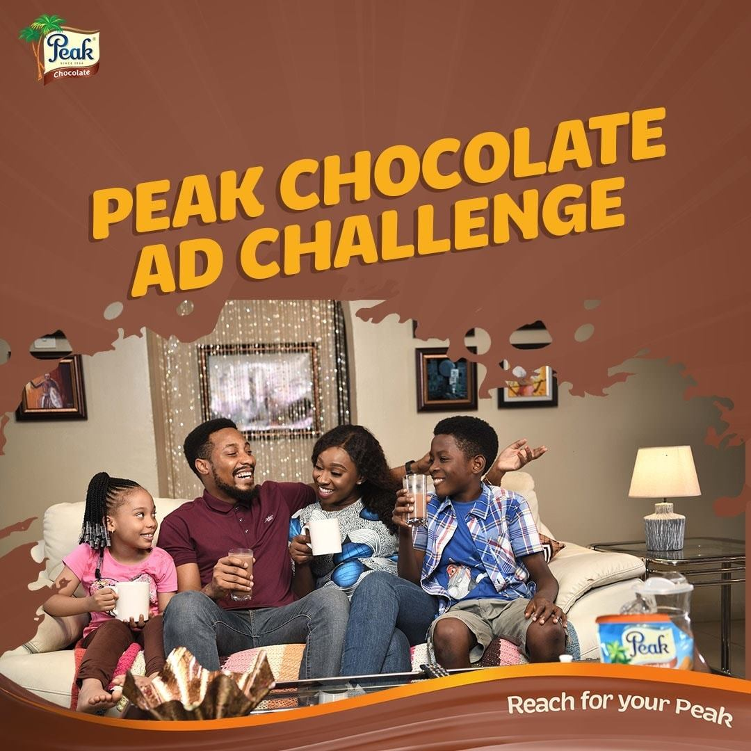 Win Prizes in #PeakChocolateAdChallenge.