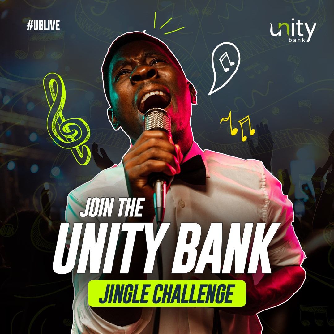 Win Prizes in Unity Bank Jingle Challenge.