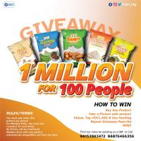N1Million For Grabs in @dci_nig Giveaway.