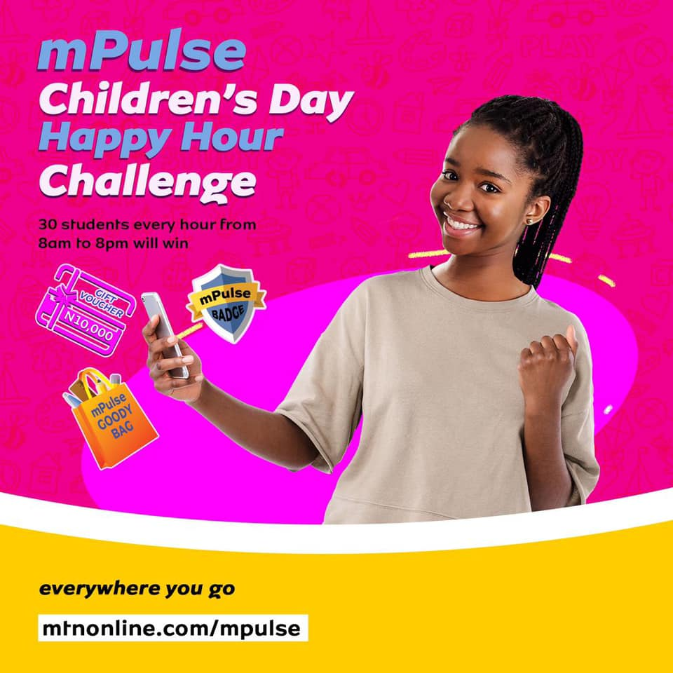 30 Students to Win Gift Vouchers in MTN mPulse Childrens Day Giveaway.