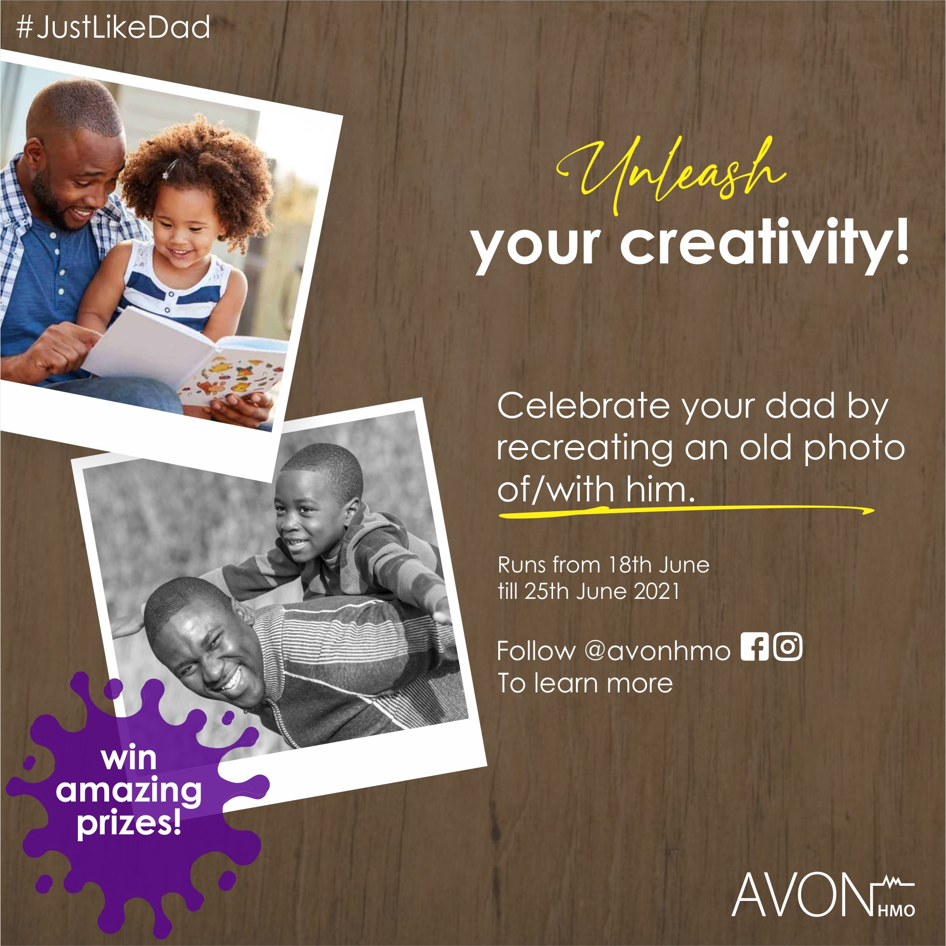 Win Amazing Prizes in Avon HMO Fathers day Giveaway !!!.