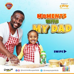 """Win Prizes in NutriKids """"My Dad and I Moments"""" Giveaway."""