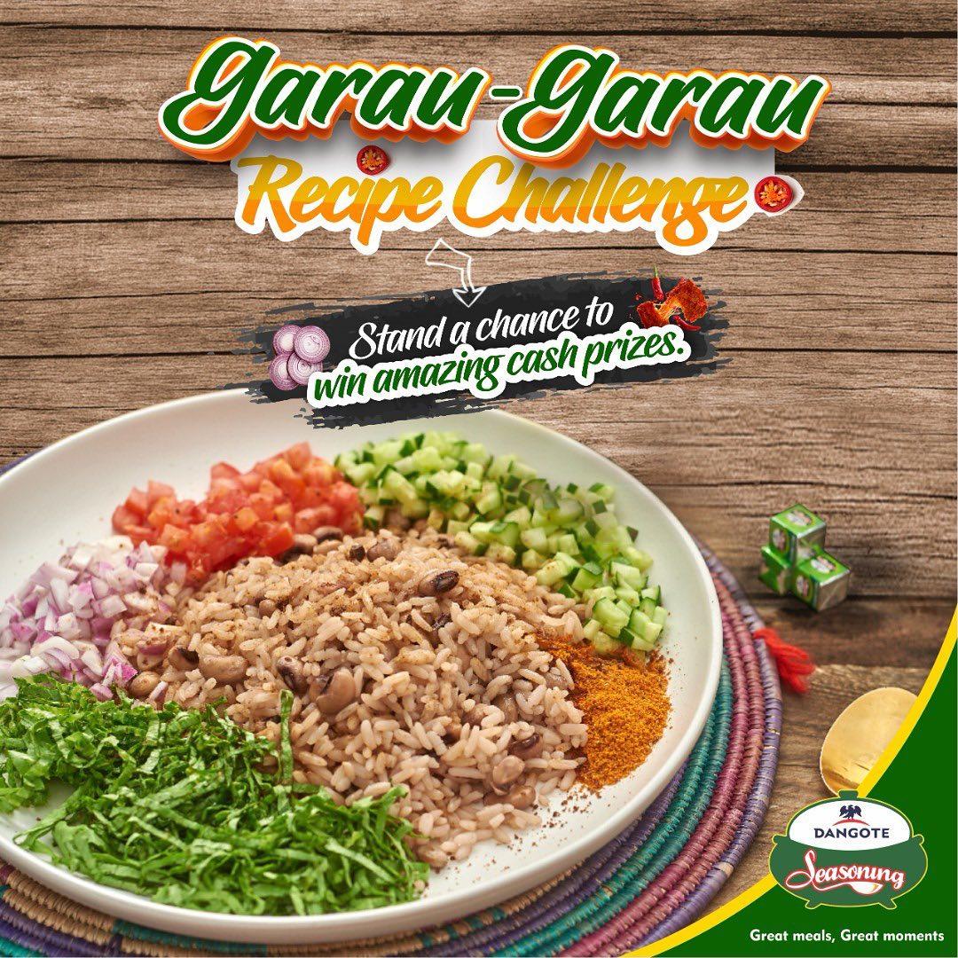 Cash Prizes For Grabs in Dangote Seasoning Recipe Challenge.