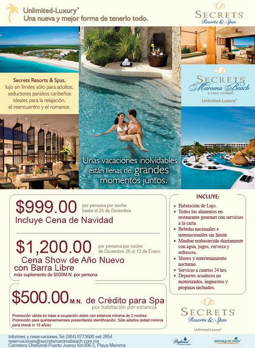 secrets marona beach hotel