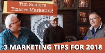 3 Marketing Tips For 2018