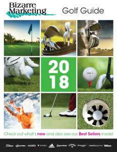 Golf Promotional Products Guide 2018