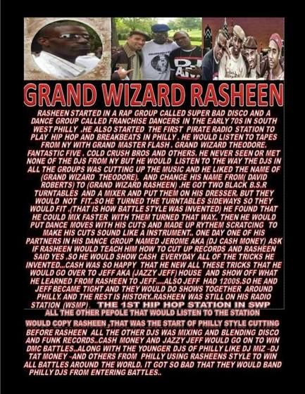 Grand wizard rasheen