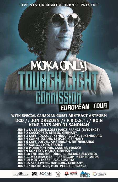 Moka Only Show Flyer