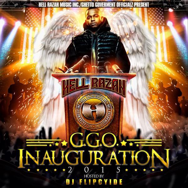 Hell Razah GGO Inauguration 2015 hosted by DJ Flipcyide