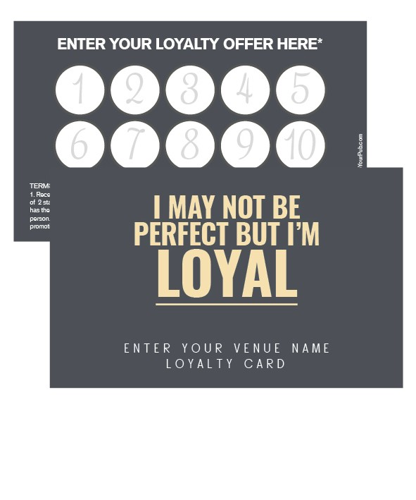 Im Loyal Loyalty Card Loyalty Cards Products