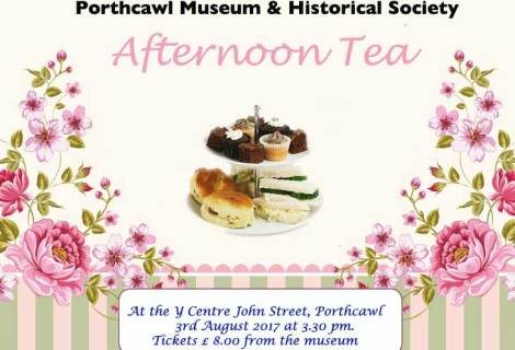Afternoon Tea with the Porthcawl Museum & Historical Society
