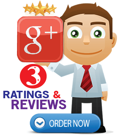 Buy 3 Google Plus Reviews