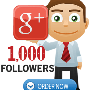 Buy 1000 Google Plus Followers