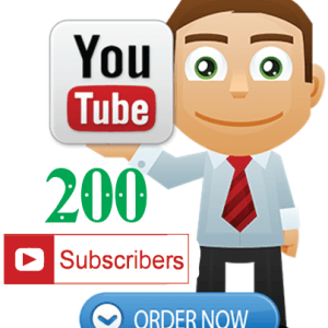 Buy 200 YouTube Subscribers