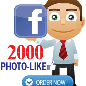 Buy 2000 facebook photo likes