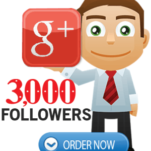 Buy 3000 Google Plus Followers