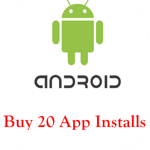 buy 20 android app install