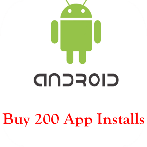 buy 200 android app installs