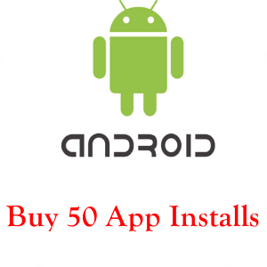 buy 50 android app installs