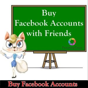 Buy facebook account with friends