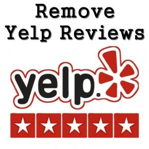 remove reviews from yelp