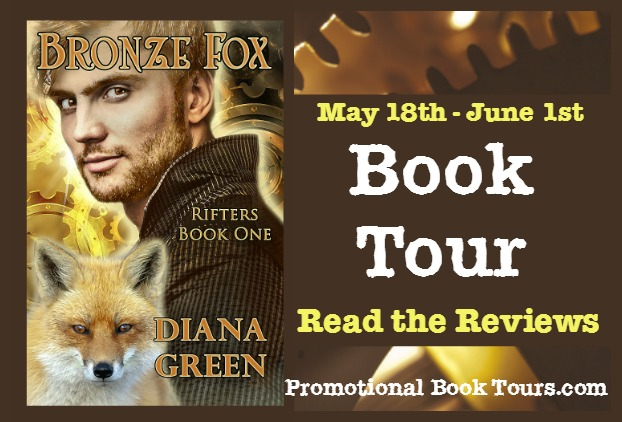 bronze fox book tour banner