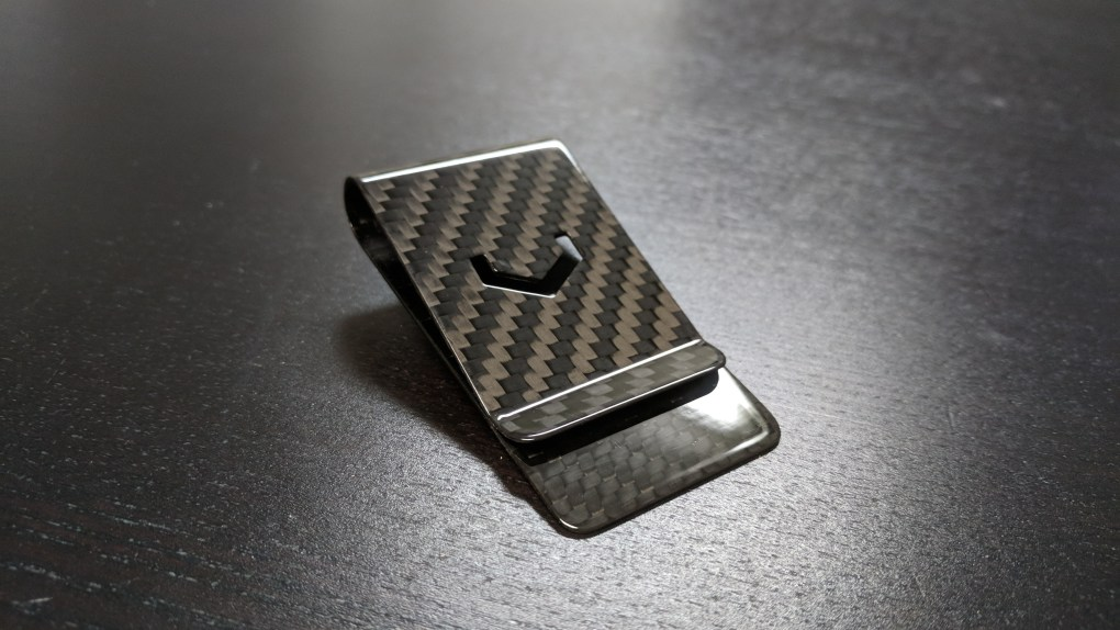 Vossen Carbon Fiber Money Clips with custom CNC Engraving