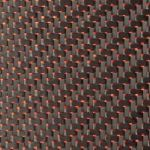 Reflections Twill - Red Mylar