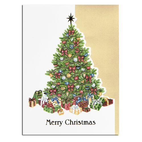 Holiday Card Christmas Tree China Wholesale HWH50094