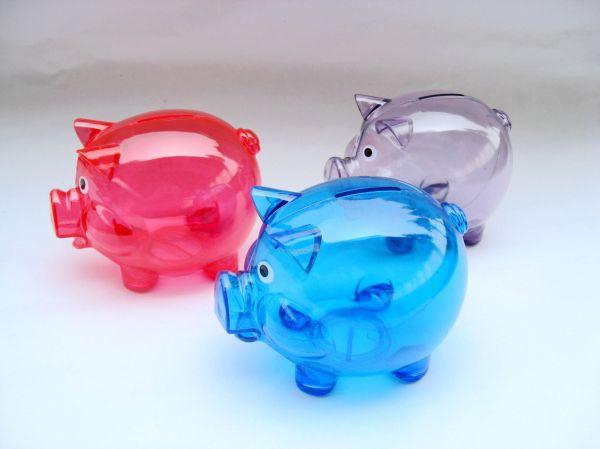 Plastic Piggy Bank China #ppb1209041