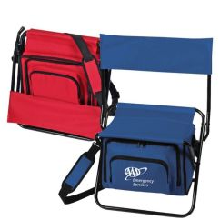 Folding Chair With Cooler Office Arm Covers Walmart Insulated Lunch Bags Customized