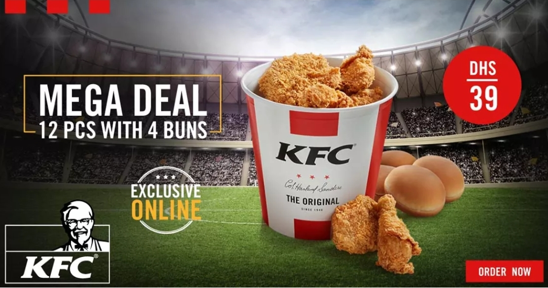 KFC's MEGA DEAL - Promotionsinuae