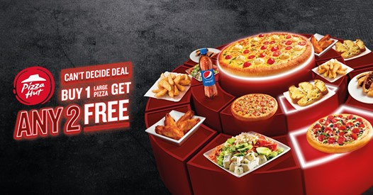 Pizza Hut Any 2 Of Your Favorite Sides For Free With Pizza Promotionsinuae