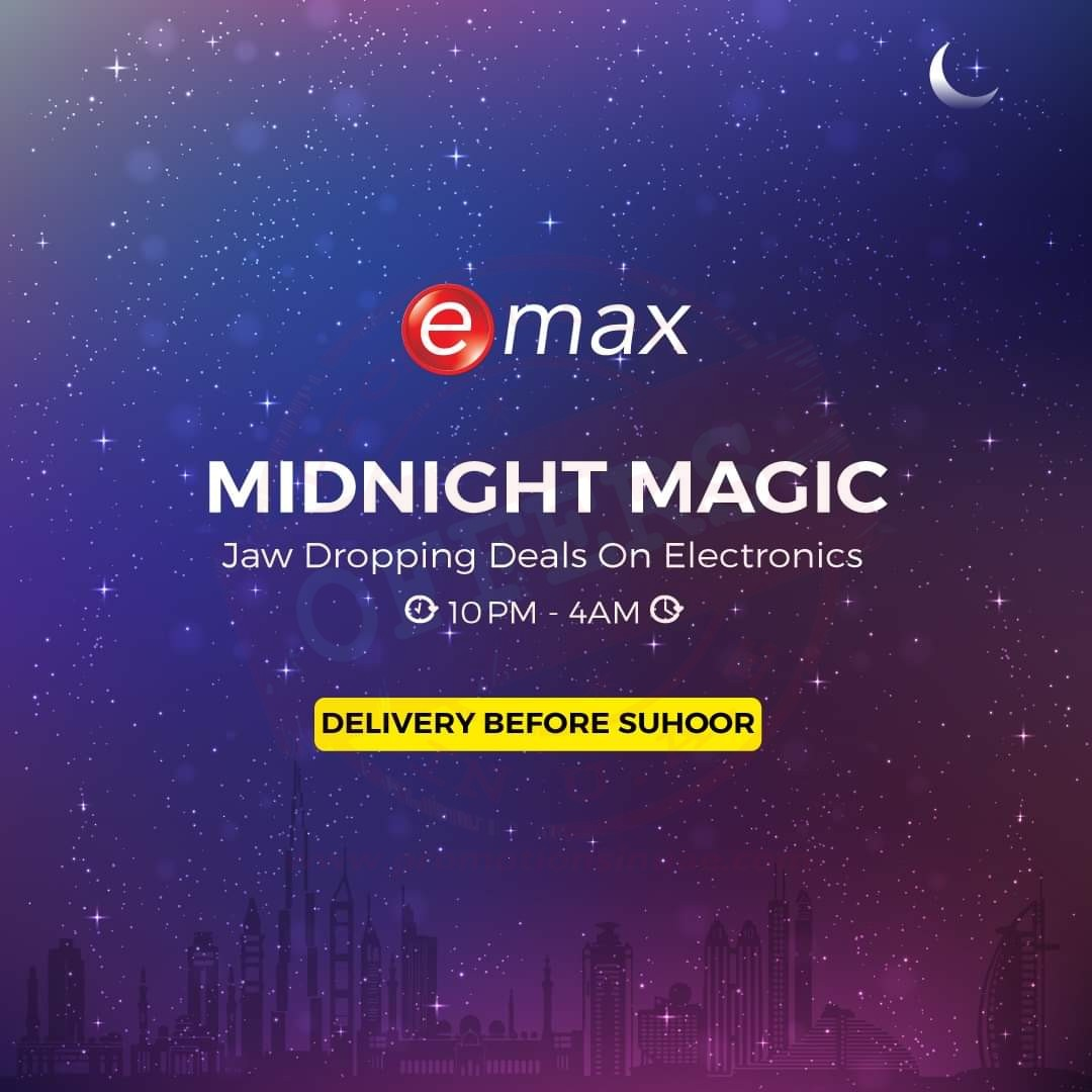 Emax MIDNIGHT MAGIC - Promotionsinuae