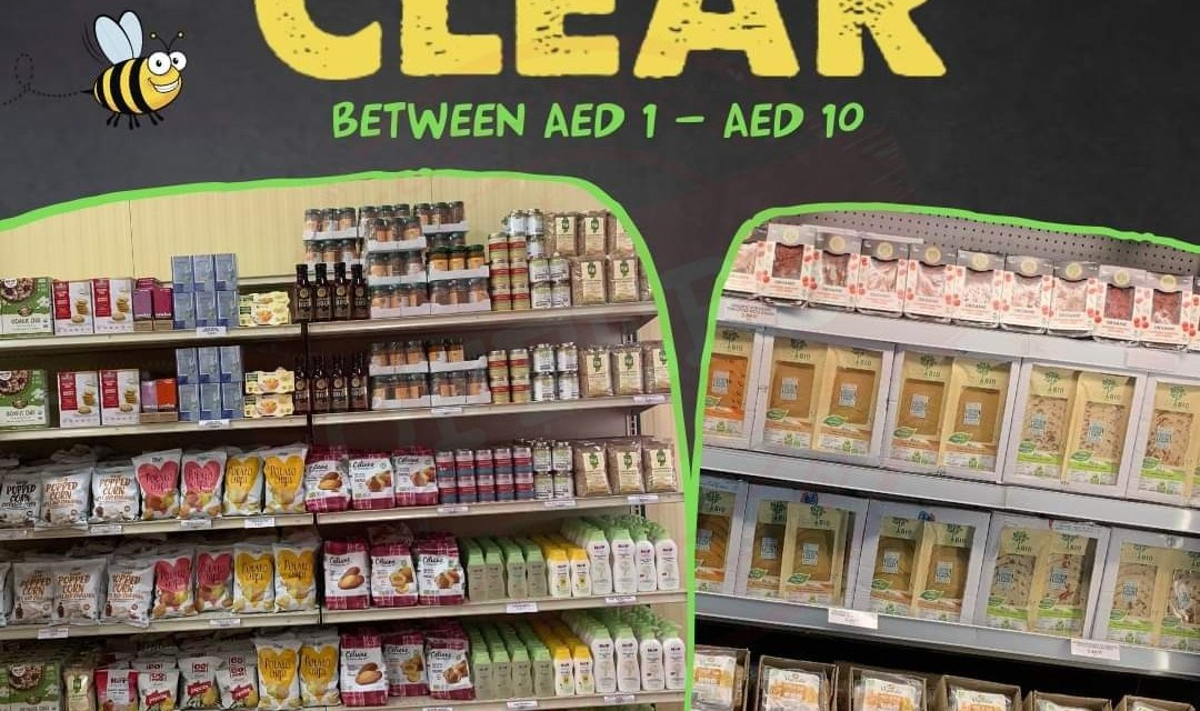 CLEARANCE ⁣at Organic Foods & Cafe !⁣⁣⁣ - Promotionsinuae