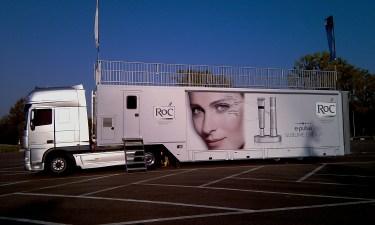 Merchandise trailer