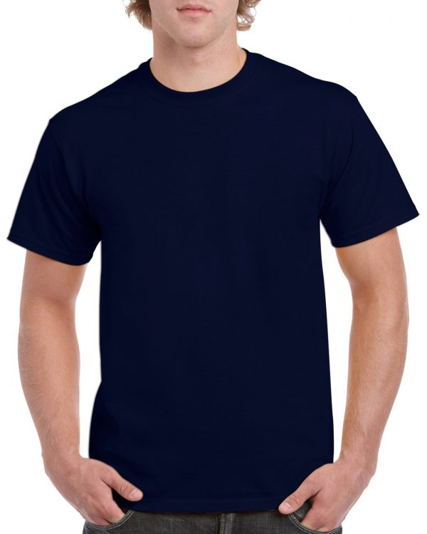 Gildan Heavy Cotton Adult T-Shirt Navy 2Xlarge (5000) 1 | | Promotion Wear