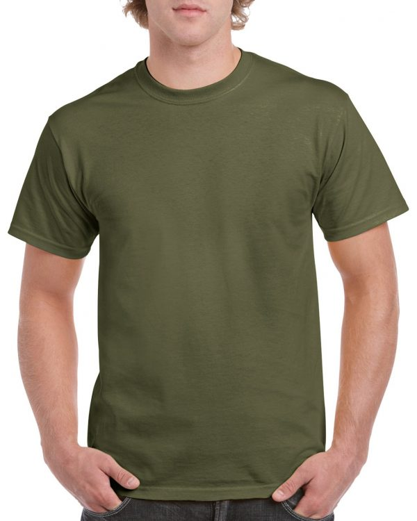 Gildan Heavy Cotton Adult T-Shirt Military Green Xlarge (5000) 1 | | Promotion Wear